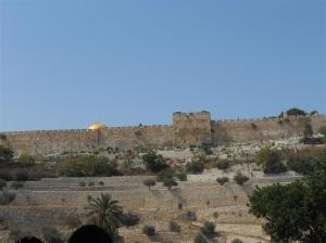 east gate with Dome of Rock behind (Medium)