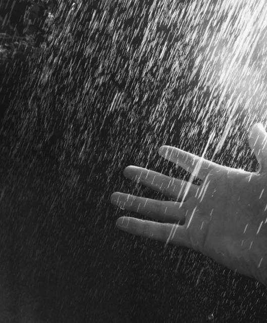 hand rain